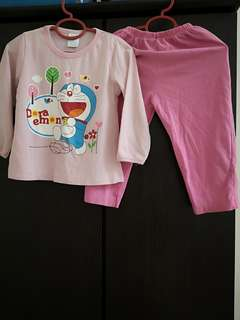 Doraemon Girls Pyjamas