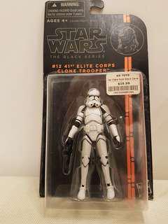 Star Wars 41st Elite Corps Clone Trooper Black Series 3.75 inch