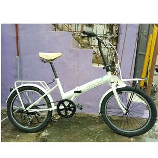 RENDEZVOUZ FOLDING BIKE (FREE DELIVERY AND NEGOTIABLE!)
