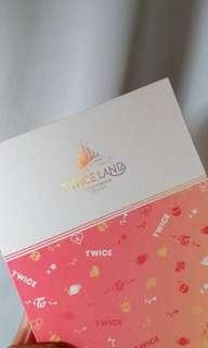 TWICE 官方卡簿 TWICELAND