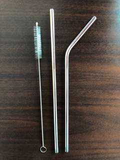 Reusable Stainless Straw - Sedotan Stainless