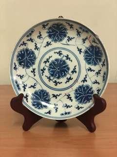 Porcelain plate (guang xu period)