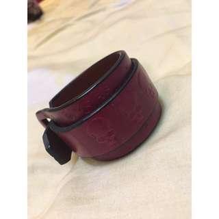 個性真皮手環