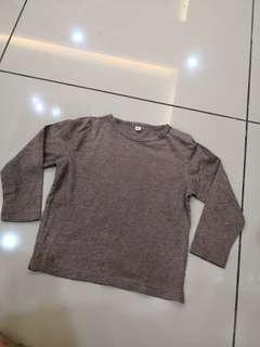 Unbrand Light Brown Shirt (2t)