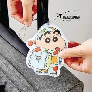 韓國製 小新行李牌