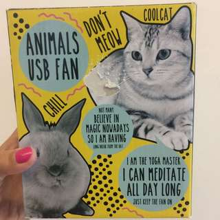 Animals USB Fan