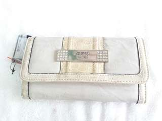"Brand New Guess Creme ""Trisha"" wallet"