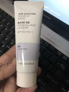 Air Cotton Makeup Base Lavender
