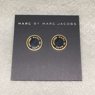 Marc Jacobs Sample Earrings 黑色配金色耳環
