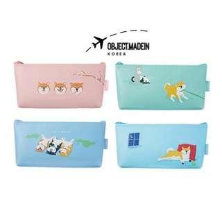 韓國製 柴犬筆袋