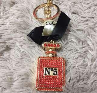 🆕 Channel Luxury Keychain