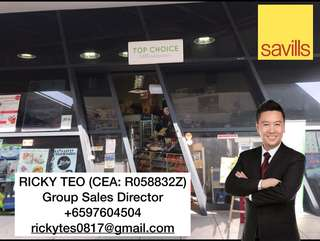 Retail Shop in D'Leedon Condo, Great Investment Great Rental Yield