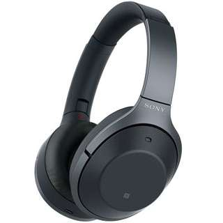 ony WH-1000XM2 Wireless Noise Cancelling Headphones (Black)
