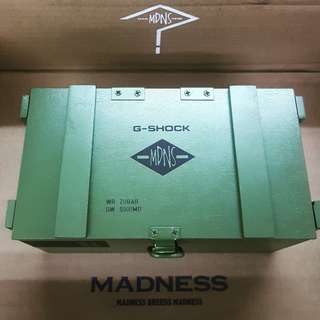 Madness x Gshock limited edition