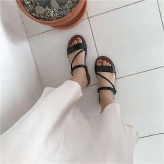 🚚 韓系百搭涼鞋