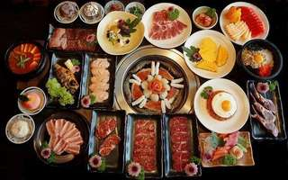 Japanese BBQ Set with Wagyu Beef for 4 - 5 People