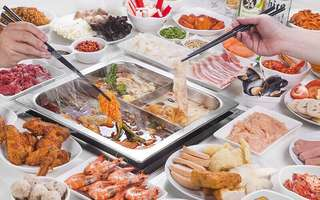 (Mon - Thu) Steamboat Dinner Buffet + Coke + Ice-Cream for 1 Adult