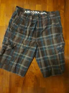 🚚 Men's Bermudas shorts - chequred size 33