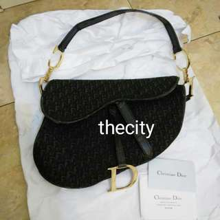 AUTHENTIC DIOR SADDLE BAG .
