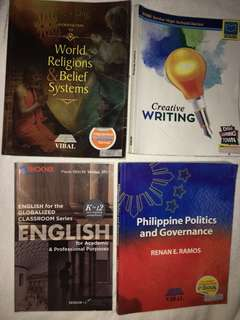 HUMSS SHS BOOKS