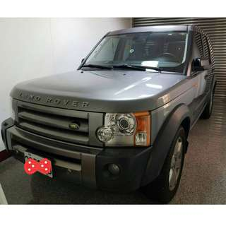 LAND ROVER DISCOVERY3 4.4 V8HSE豪華7人座休旅車