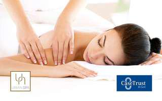 75-Min Full Body Swedish or Aromatherapy Massage with Back Scrub for 1 Person