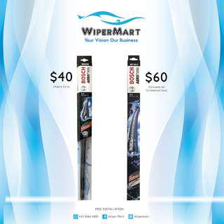 Bosch Wipers for Asian and European cars