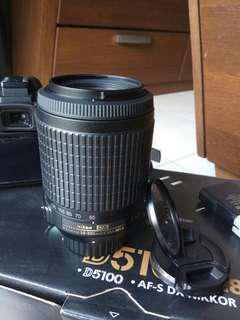 Nikon DX 55-200mm ED telephoto lens