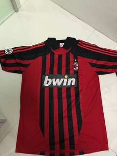 BWIN Black and Red Football shirt