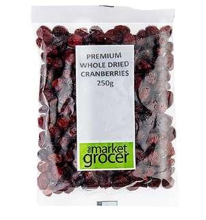 The Market Grocer 澳洲純天然 原粒 蔓越莓乾 250g