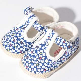 Authentic Cath Kidston Baby Shoes (Blue)