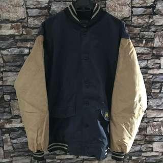 Petersaysdenim varsity jacket size xl navy original