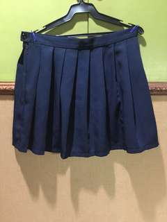 Tennis Skirt (Navy Blue)