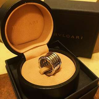 Bvlgari B.zero1 4-band 18kt White Gold Ring