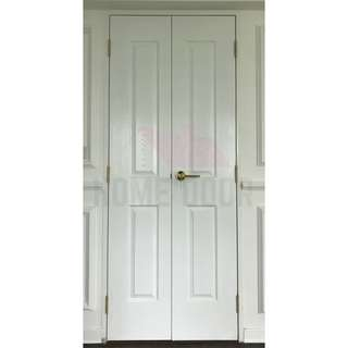 Solid classical french door for HDB/BTO