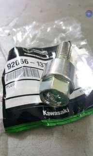 ★KRR150/ZX150/RR150 💯Original Engine Oil Drainage Plug