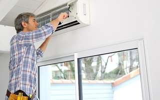 1-Year Air Conditioner Servicing with 90-Day Warranty for 2 Units