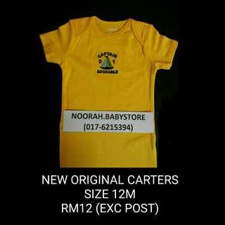 NEW! ORIGINAL CARTERS BABY ROMPER