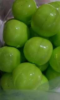 6.5cm capsule balls