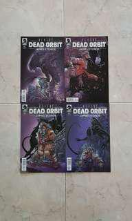 Aliens: Dead Orbit (Dark Horse Comics 4 Issues Limited Series; #1 to 4, complete storyline)