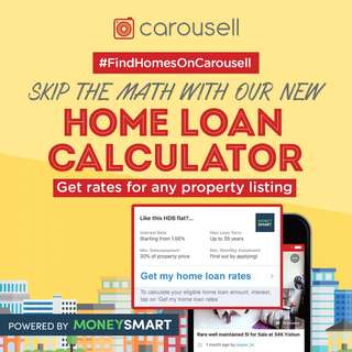 Skip the Math with our New Home Loan Calculator powered by Money Smart!