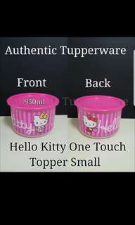 Authentic Tupperware  Hello Kitty LIMITED Edition One Touch Topper Small 950ml 《Retail Price S$16.60/each》 one touch