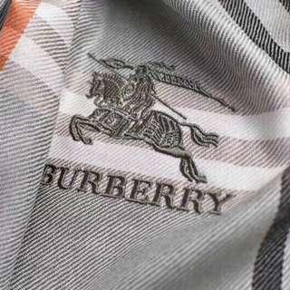 Burberry Mixture Black , Grey , White Cashmere Scar