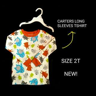 LONG SLEEVES CARTERS TSHIRT (TOP ONLY)