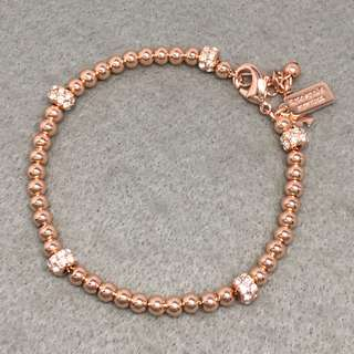 Kate Spade New York Sample rose gold Bracelets 玫瑰金色閃石波波手鏈