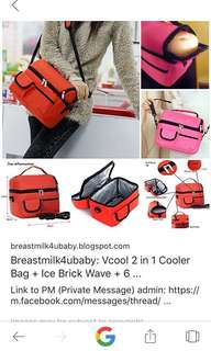 Cooler Bag V-cool Merah #IKEA50