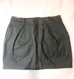 Top shop Grey Mini Skirt