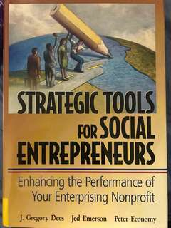 Strategic Tools For Social Enterpreneurs
