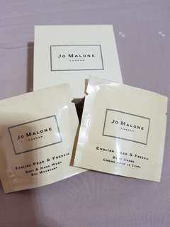 🚚 Jo Malone Travel Set (English Pear & Freesia Body Wash, Body Creme)