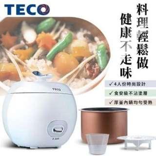 🚚 TECO東元 小蘋果4人電子鍋(YC0401CB)